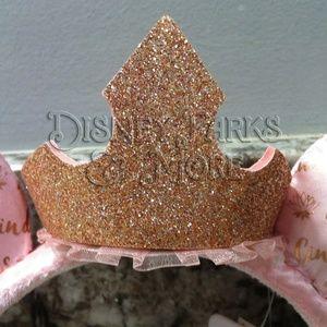 Disney Accessories - Disney Dream Big Princess Rose Gold Ears Headband